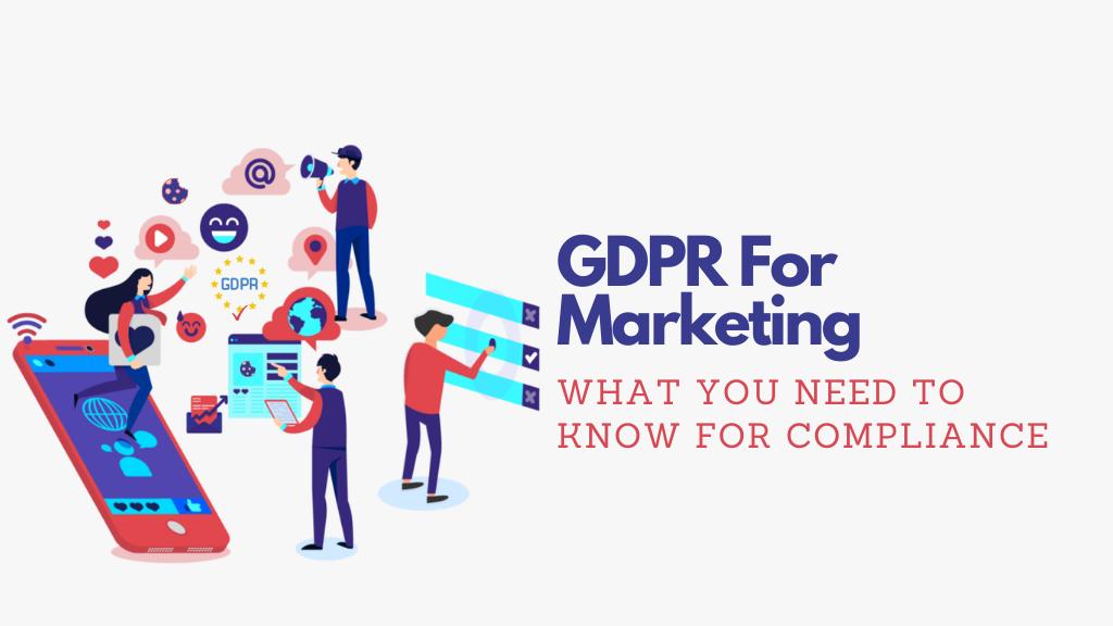 gdpr for marketing