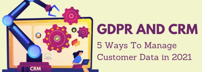 gdpr customer data