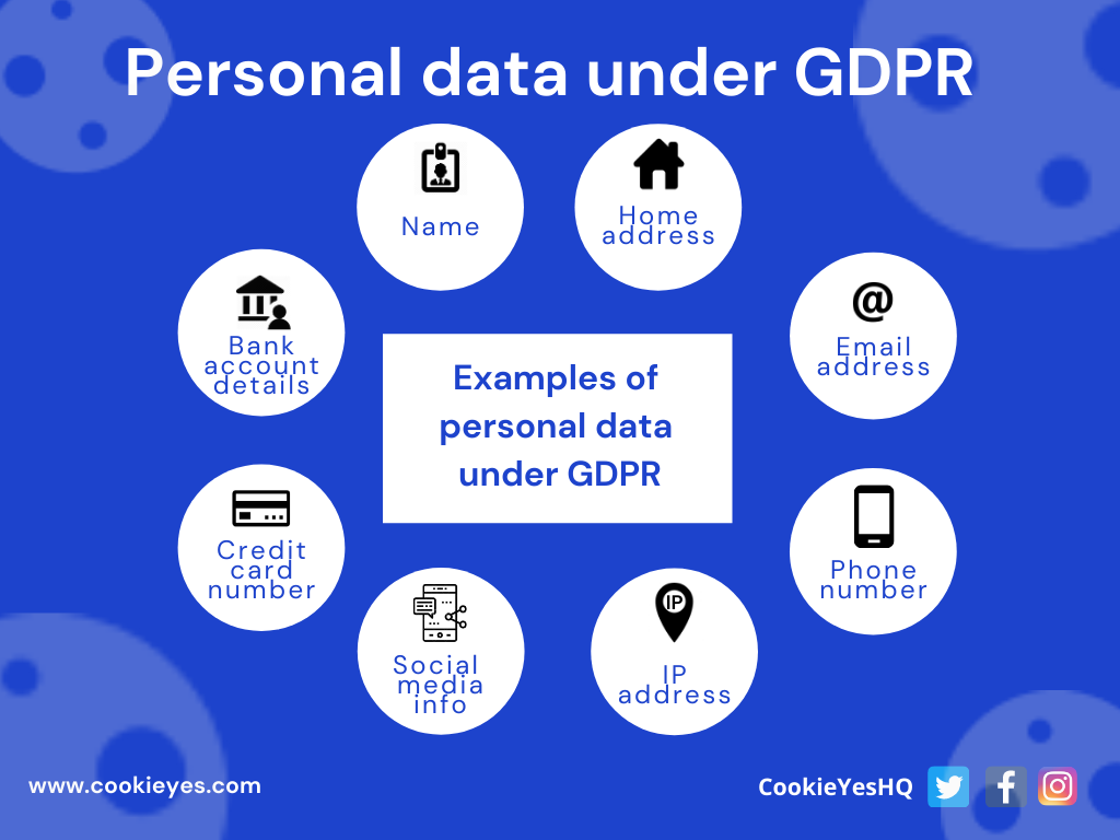 personal data - gdpr website compliant