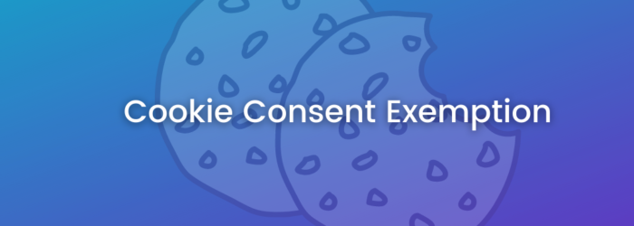 cookie consent exemption
