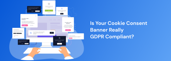 GDPR Compliant Cookie Consent Banner