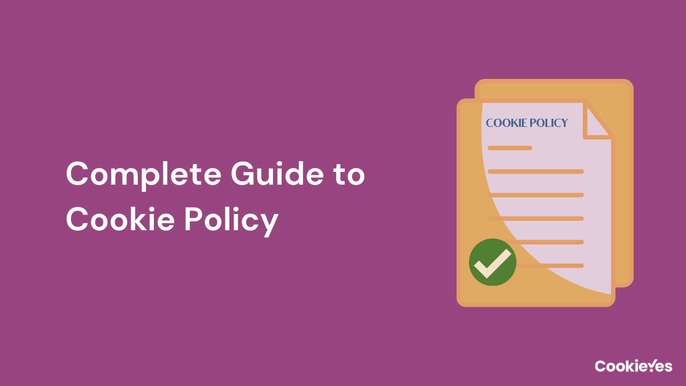 Cookie Policy for Websites